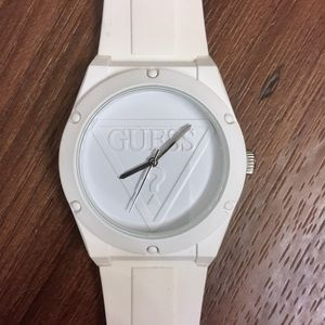 Guess Iconic Silicone Sports Watch